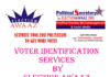 VOTER IDENTIFICATION Services by Election Awaaz in Your constituency