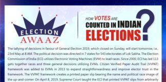 How votes are counted in Indian Elections