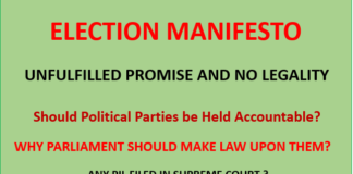 Election Manifesto by Election Awaaz